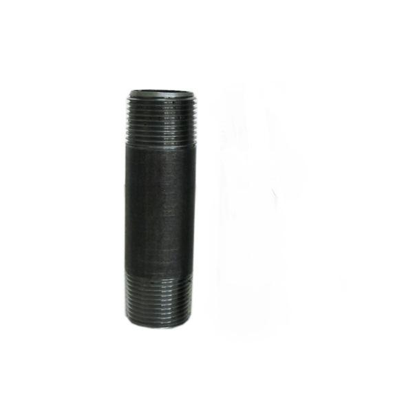 Image of BLACK NIPPLE STEEL 1.5''