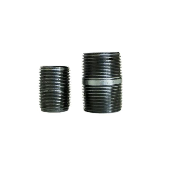 Image of BLACK NIPPLE STEEL 2''